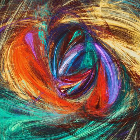 Abstract colorful artistic background Stock Photo
