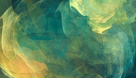 Abstract background with green and yellow tones Standard-Bild - 141301860