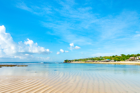Beautiful beach In Bali, Indonesia on a prefect sunny day