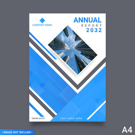 Brochure layout design. Corporate business annual report, catalog, magazine, flyer template