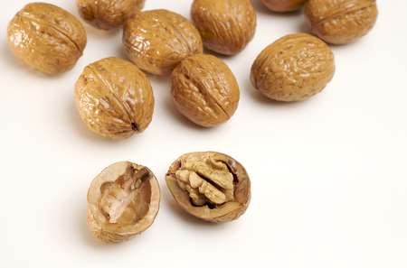 Walnut detail
