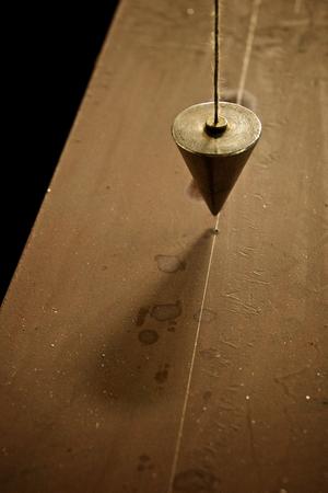 pendulum: Industrial pendulum - detail of a precision worktool