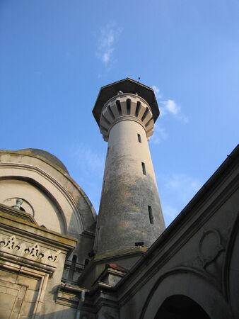 Mosque in Constanta, Romania 版權商用圖片