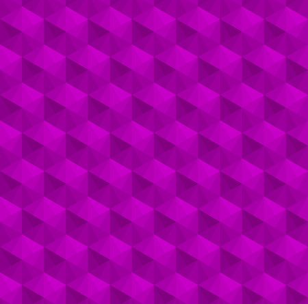 Purple cubes pattern background vector. Ilustração