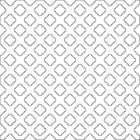 White X symbol pattern on white background vector.