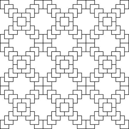 White X symbol pattern on white background vector.