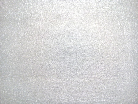 Top view of white foam board texture background. Stock Photo