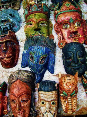 Tibetan Buddhist Deity Masks