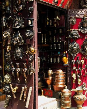 street vendor: Tibetan Handicrafts Street Vendor