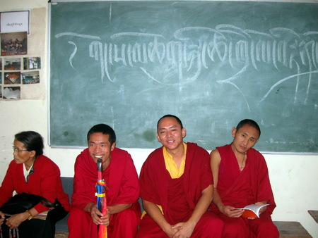 Young Tibetan Buddhist Monks Dharamsala India