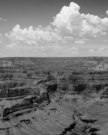 Grand Canyon National Park Landscape Cloudscape