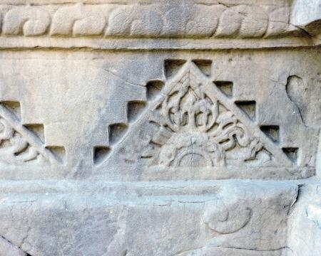 India Ancient Hindu Temple Architecture Stock Photo - 50491680