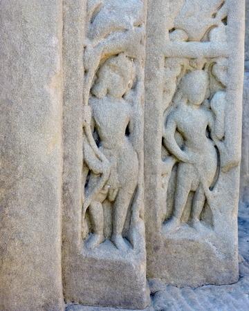 India Architecture Hindu Temple Stock Photo