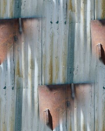 Aluminum Siding Seamless Repeating Pattern Stock Photo