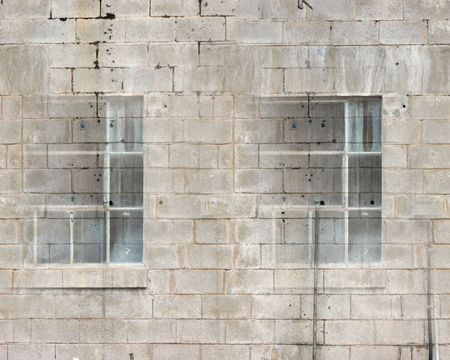 Concrete Block Wall Seamless Repeating Pattern Stock Photo - 54780773