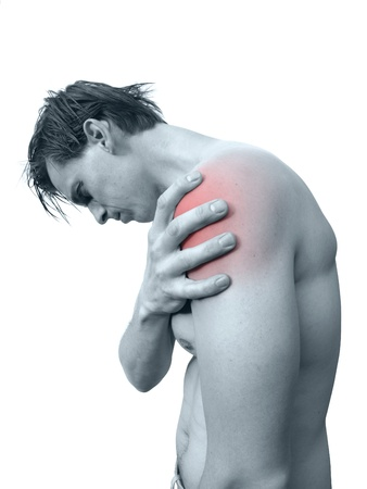 Shoulder pain Stock Photo - 17789170