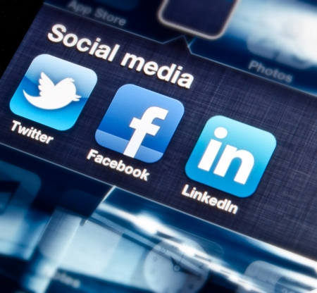 Social media Stock Photo - 17877227
