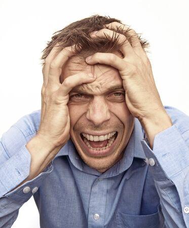 Angry man Stock Photo - 17789177