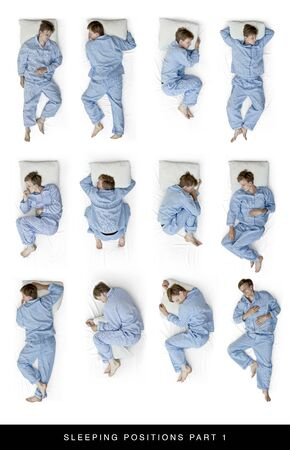Sleeping positions photo