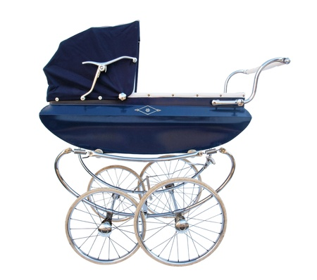 old fashioned Baby carriage Stock Photo - 18242690