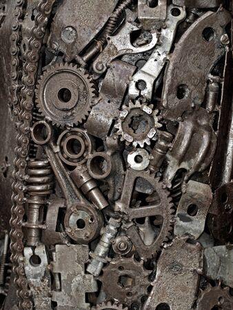 Mechanic background Stock Photo - 17876439