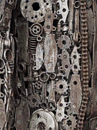 Mechanic scrap Stock Photo - 17876496