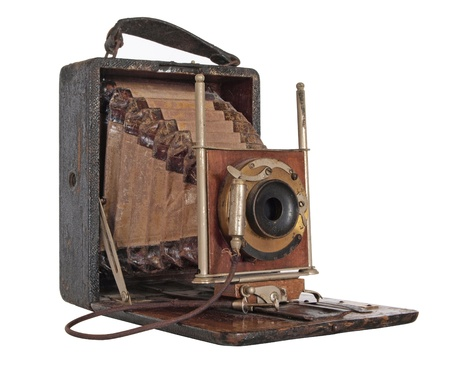 Vintage camera Stock Photo - 17876461