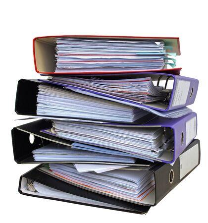 disorganization: File folders