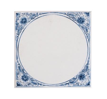 Dutch blue tile