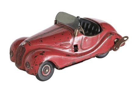 Vintage toy car Stock Photo - 17876426