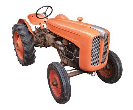 Vintage tractor Stock Photo - 17876429