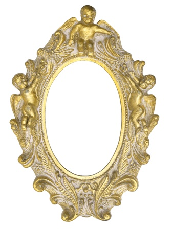 Angel picture frame Stock Photo - 18415901