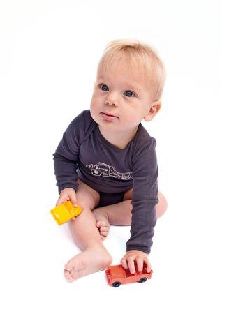 Playing baby Stock Photo - 18457328