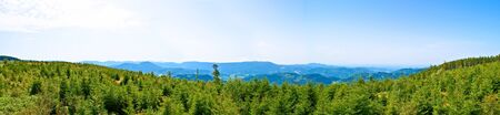 Panorama of the black forrest in germany Stock Photo - 18319900