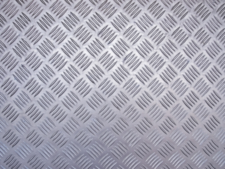 stainless steel checker plate texture photo