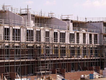 commercial construction: Construction site