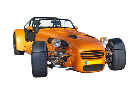 An Orange Donkervoort car made in Holland Stock Photo - 18369188