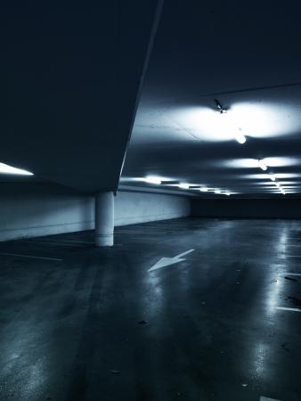 Empty parking garage Stock Photo - 20346019