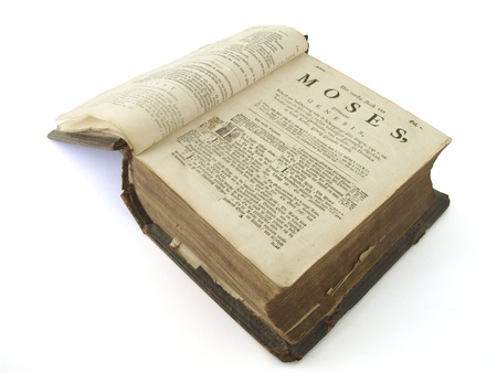moses: Very old bible