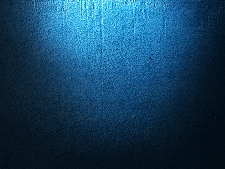 blue wall background Stock Photo - 19140440