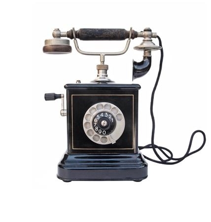 Old vintage telephone Stock Photo - 18649029