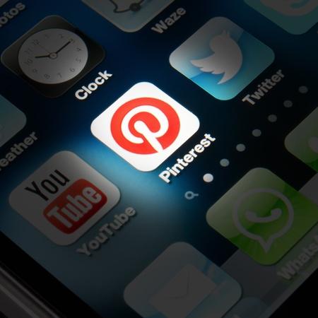 iconn de Pinterest sur Smartphone