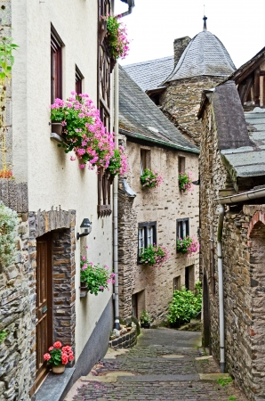 Touristic village of beilstein in Germany at the mosel