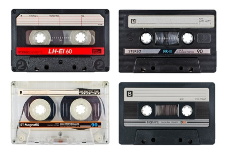 cassette tape: cassette tapes