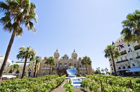 Monte Carlo casino in monaco Stock Photo - 21674671