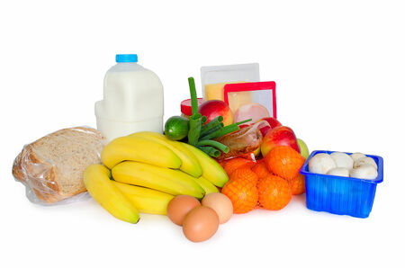 inflation basket: Groceries or basic food package needed to stay healthy