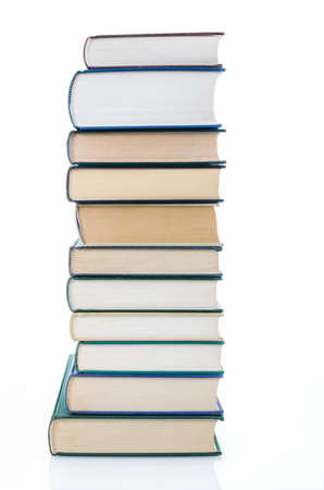 stacked books: Stacked books Stock Photo