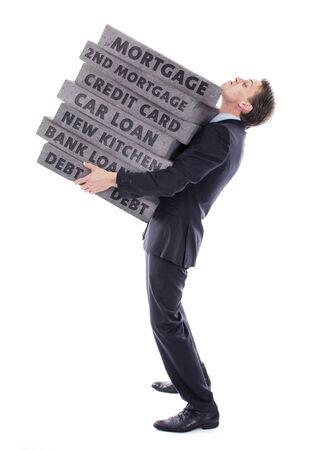 cary: Man carrying debt