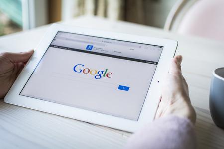 google: Google on iPad