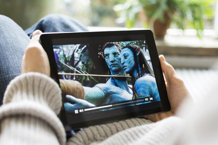 Avatar movie on iPad